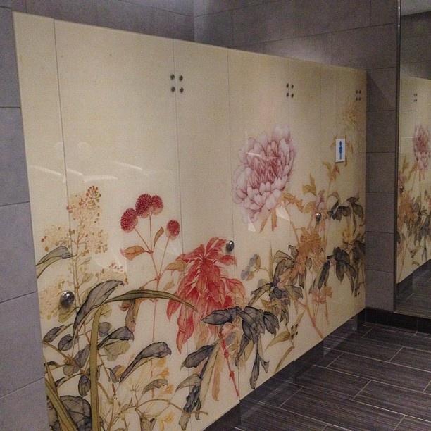 Bathroom Stall Graphic | Hong Kong Museum of Art | Pinterest