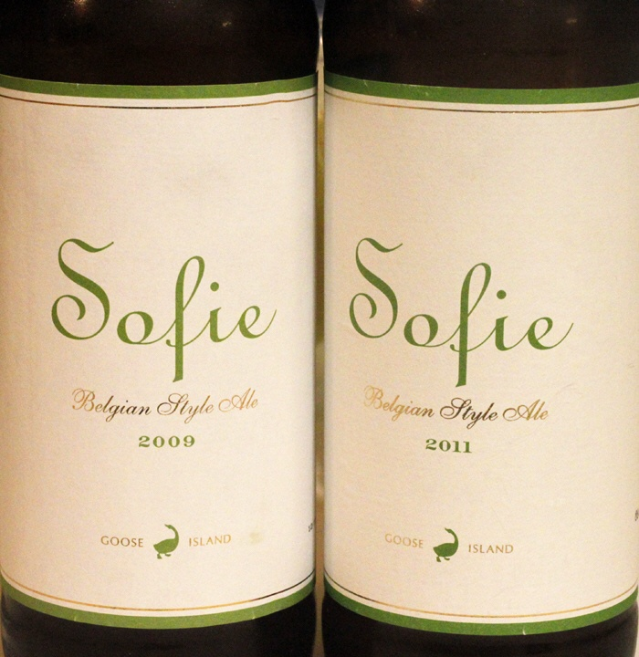 Beer: Goose Island Sofie Showdown