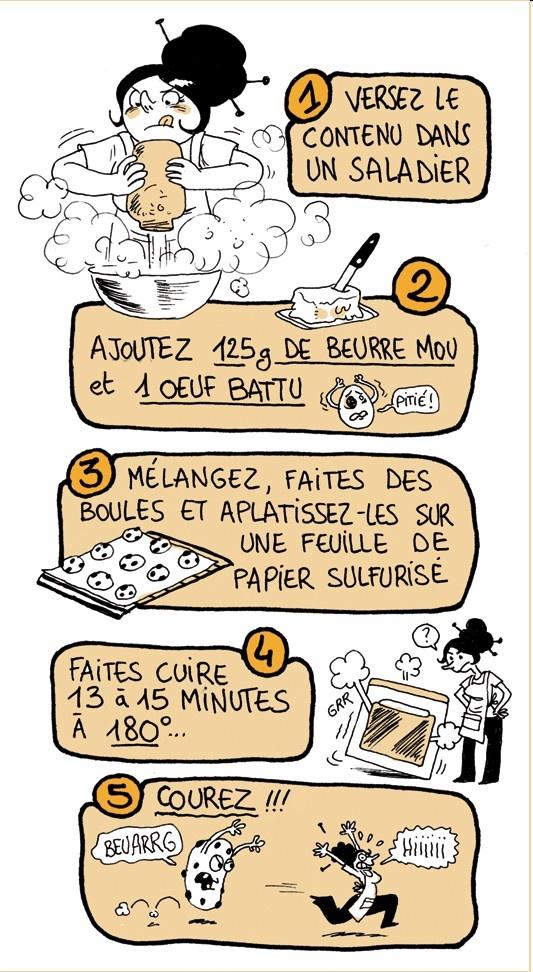 Etiquettes SOS Cookies (par Gally !) + recette pour 1L