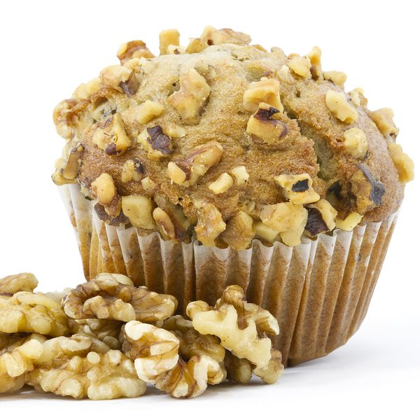 A delicious fall muffin recipe best served warm with a dollop of butter.. Apple Walnut Muffins Recipe from Grandmothers Kitchen.