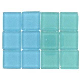Tree House Studio Aqua Mix Glass Mosaic Tiles | Shop Hobby Lobby