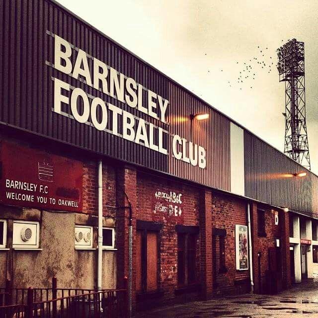 Floodlights Oakwell, Barnsley FC, England