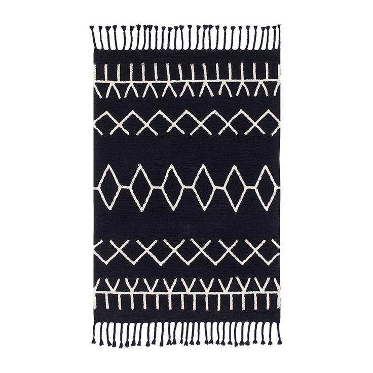 Teppich Washable Baumwolle Bereber Black von Lorena Canals, 160,00 &e