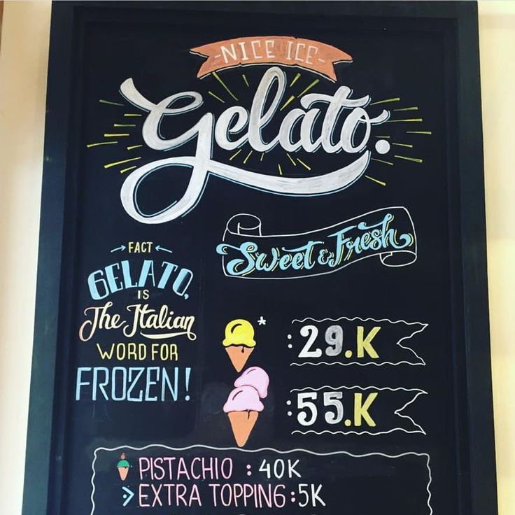 Friday treats done right with a good scoop of gelato from our Made Manis bar! Wishing you all a happy weekend!
