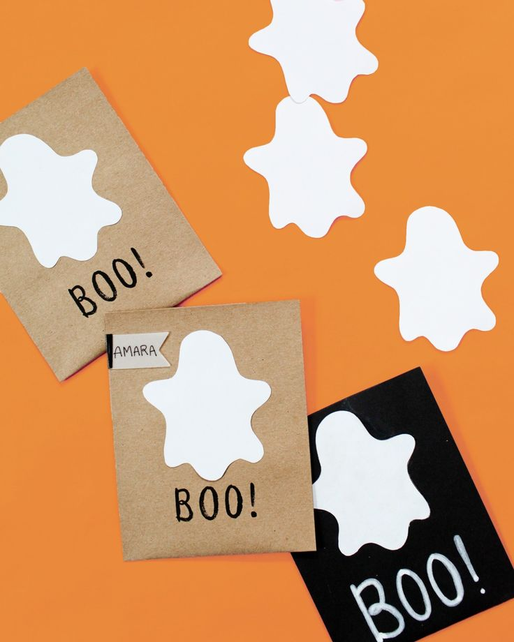 Trick or treat! These creative goody bags are a hoot for Halloween parties. Or stuff them with candy and hand them out to trick-or-treaters! Click in to download the template.