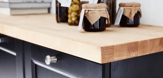 Ikea Kinderbett Zum Mitwachsen ~ IKEA Küchen Arbeitsplatten, wie KARLBY Arbeitsplatte, Buche