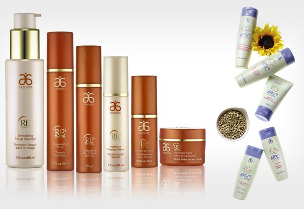 RE9 Advanced® by Arbonne International and ABC Arbonne Baby Care Set