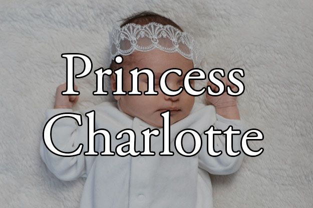 I got Princess Charlotte! What Would Your Royal Baby Name Be?