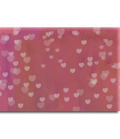 Fundido de tu fotografía en un mar rosa de corazones. Montaje de acabado profesional que puedes enviar este San Valentín por correo electrónico. http://www.fotoefectos.com