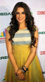 Neha Dhupia at MCHI Show.