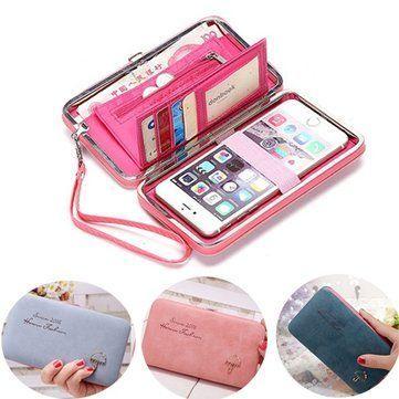 Universal Women Umbrella 5.5 Inch Phone Wallet Case Purse For Iphone,Xiaomi,Redmi,Samsung  On Sale - NewChic Mobile.