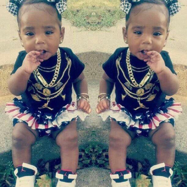 Baby girl swag