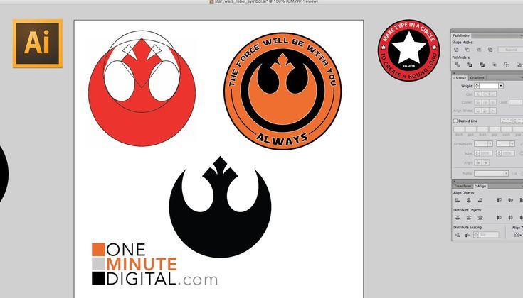 Make the Star Wars Rebel Insignia in Illustrator