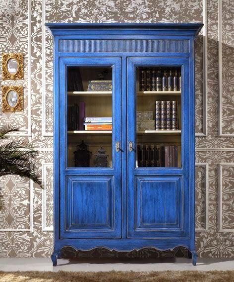 Vitrinas, ese escaparate multifunción.// Maria L.Bertolino /// www.pinterest.com...