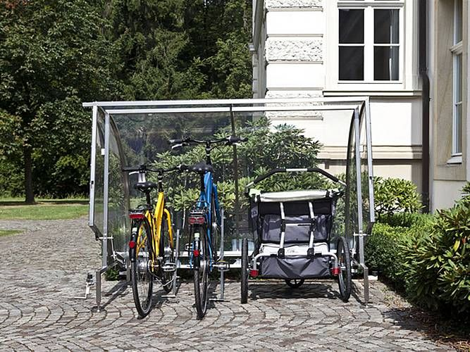 9 besten fahrrad garage bilder auf pinterest rund ums haus runde und abfalleimer. Black Bedroom Furniture Sets. Home Design Ideas