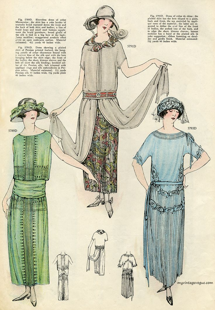 Art School Glasses: 1923 summer fashion