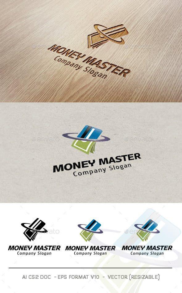 Money Master Logo Premade Logo Templates Logo Design Template Letter Logo