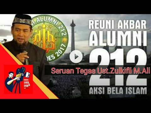Jleb! Seruan Tegas Ustad Akhir Zaman Zulkifli M.Ali di Reuni Akbar 212 (Monas 2017)