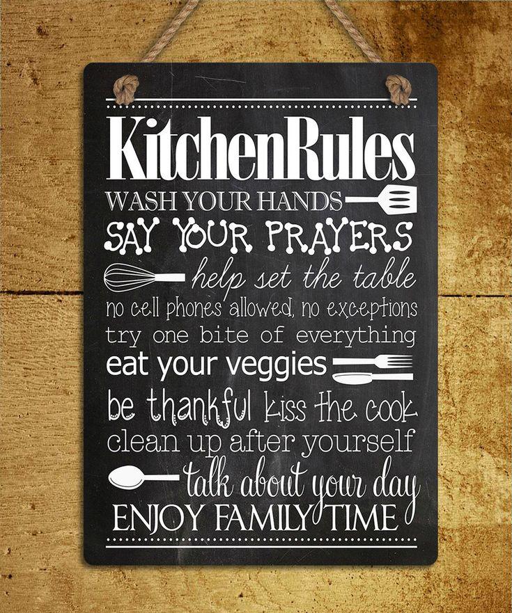 Best 25+ Kitchen Rules Ideas On Pinterest