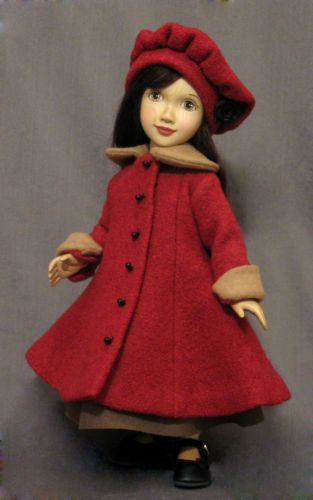 Xenis-Collectible-Doll-12-Inch-Wooden-Dress-Up-Doll-in-Sunday-Morning-Outfit Xenis Collectible Doll - 12-Inch Wooden Dress Up Doll in Sunday Morning Outfit US $724.00