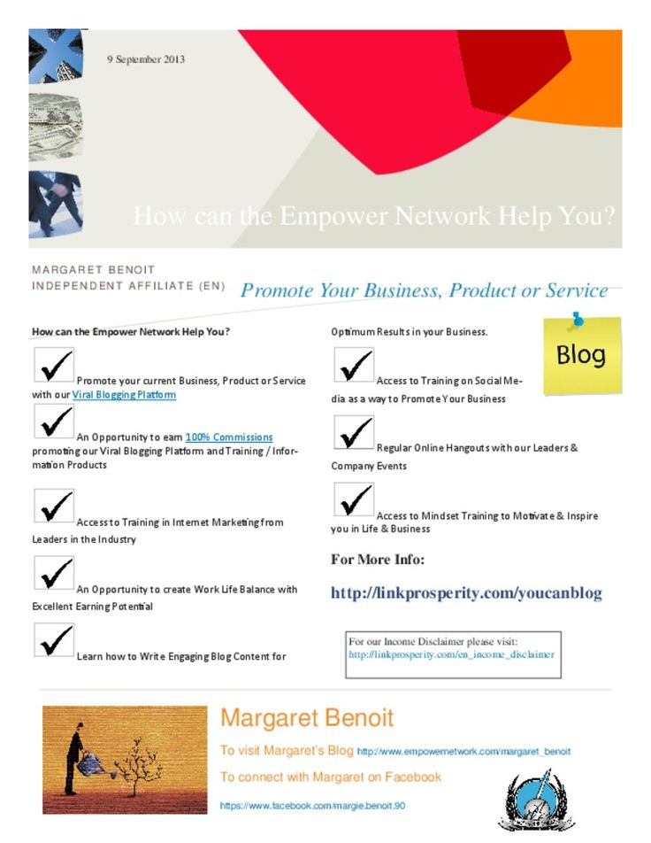 How Can the Empower Network Help You? http://prosperityformula.net/split/index.php?id=margaret_benoit&tag=