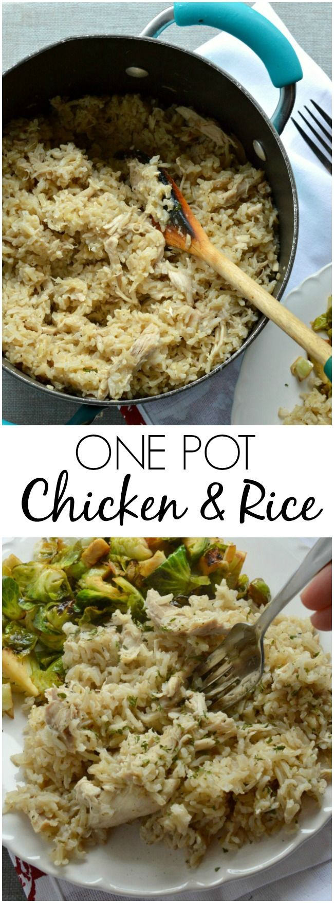 The 25 best boiled chicken and rice ideas on pinterest rice this easy one pot chicken and rice recipe is a comfort food favorite so much ccuart Gallery
