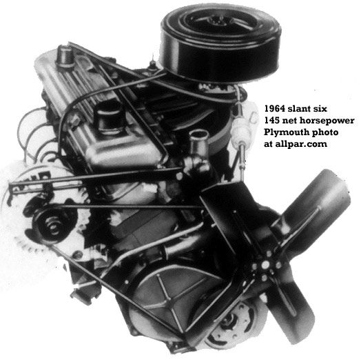 Straight Six Cylinder Engines: The 1964 Dodge Slant Six