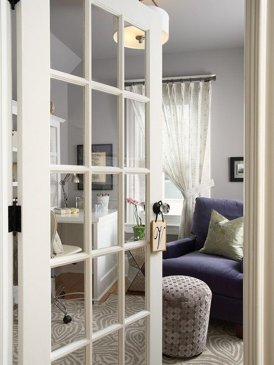 French Door With Windows Is A Nice Touch To This Room. Contemporary Design,  Pictures