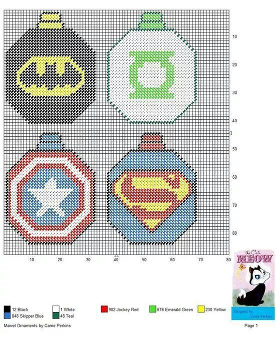 Marvel Comics ornaments