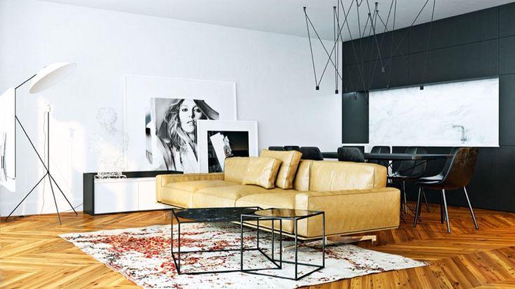Quadri per soggiorno moderno 28