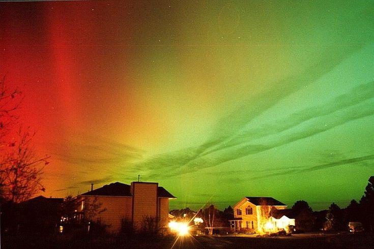 Ver la aurora boreal en el norte de Canadá