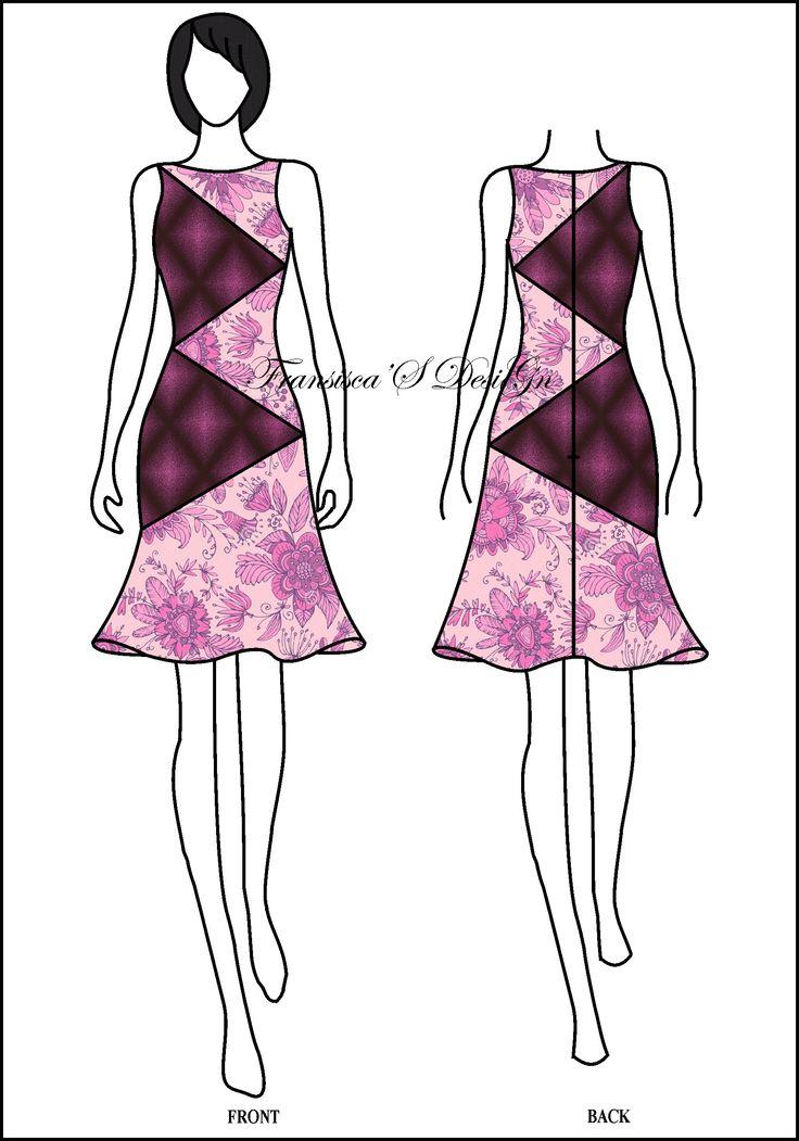 Dress klok asimetris kombinasi potongan zig zag.  #FashionDesigner #Butik #OnlineShop #DesainBajuBusanaWanita #Sketsa #Sketch #Modern #Casual #Trend #Blouse #Dress #Skirt #Hem #Batik #SoloBaru #Sukoharjo #Surakarta #JawaTengah #HP:085226138628 #PinBB:5176EF34