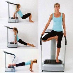Vibration Machine Exercise Routine: Vitality 600i Yoga Workout