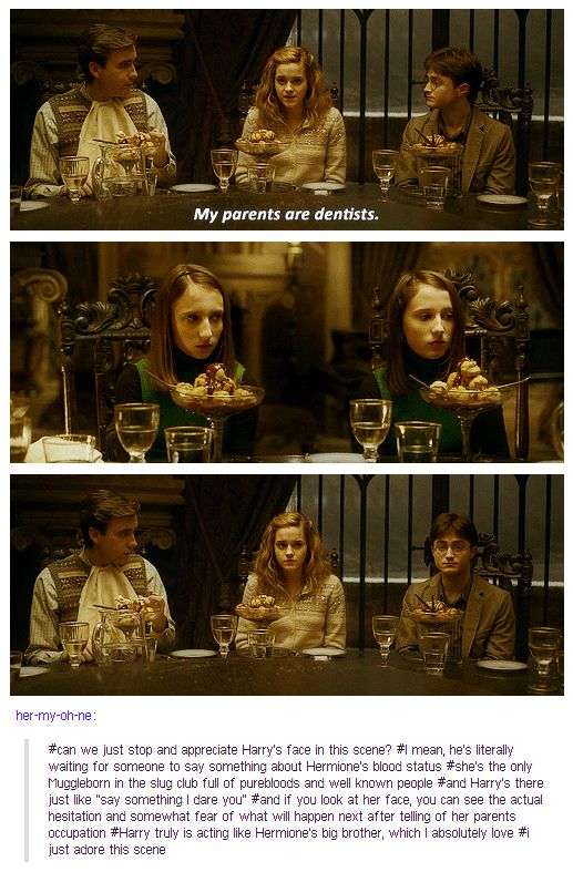 "love them.  and neville is just so wonderful.  just sitting there like, ""hmm. dentists.  I wonder if she's going to eat all her ice cream?"""