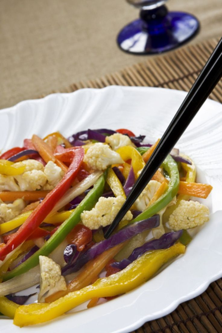 Wokschotel met Quorn en Aziatische groenten