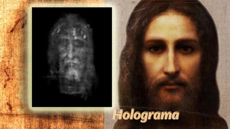 """Holograma de la Sábana Santa - tal es la cantidad de información que tiene la imagen de la Sábana Santa para la realización de imágenes en tres dimensiones -3D-... que se han realizado """"Hologramas"""". __________________________  Such is the amount of information that has the image of the Holy Shroud for the realization of images in three dimensions -3D-... that have been realized """"Holograms""""."""