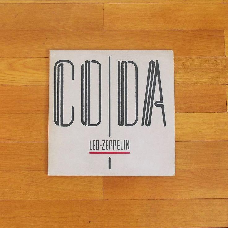 One of my favorit vinyl records # Led Zeppelin - CODA 1983