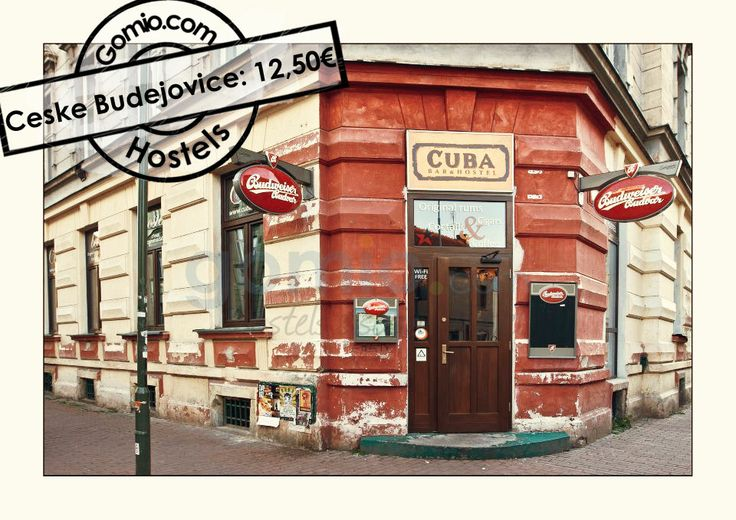 #České Budějovice | #Budweis in Jihočeský #CeskeBudejovice, #CzechRepublic 12,50€ How about some #Cuban feeling in a tiny #town in Czech Republic? The #Cuba #BarHostel in Ceske Budejovice will be your place to check out! http://www.gomio.com/en/hostels/europe/czech-republic/ceske-budejovice/Cuba-Bar-%5E-Hostel/overview.htm #Backpacking #backpacker #travel #summer #sun #beach #traveling #ideas #inspiration