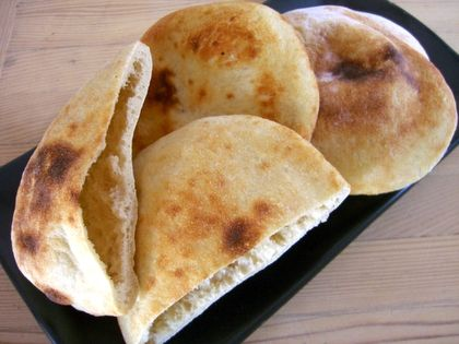 homemade pita bread, easy and delicious...