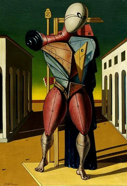 Chirico, Giorgio de (1888-1978) -1949 Troubador (Sotheby's New York, 2009) by RasMarley, via Flickr
