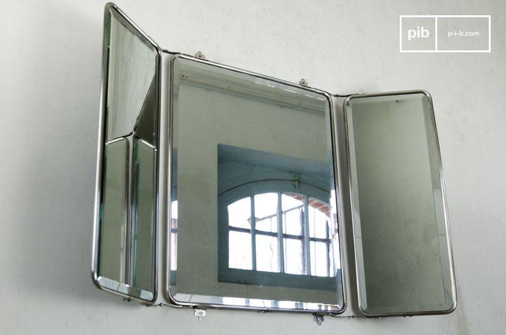 Les 10 meilleures images du tableau miroir type industriel for Miroir style retro