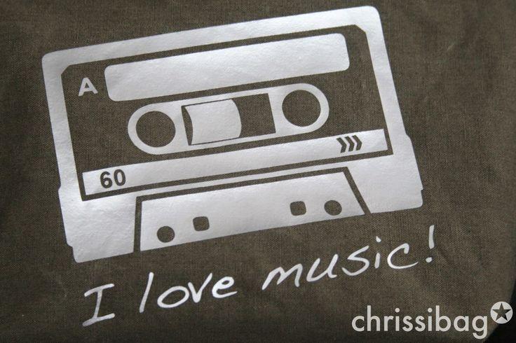 chrissibag: I love music! - Das Täschchen!