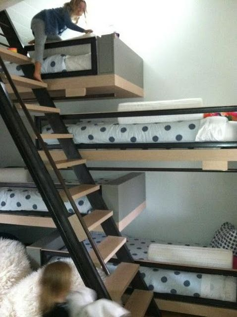 bunk beds for tight places