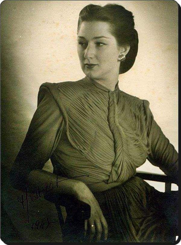 Fatma Neslişah Sultan (Son Osmanlı padişahı Sultan Vahdettin'in ve son halife Abdülmecit'in torunu) #istanlook #nostalji #birzamanlar