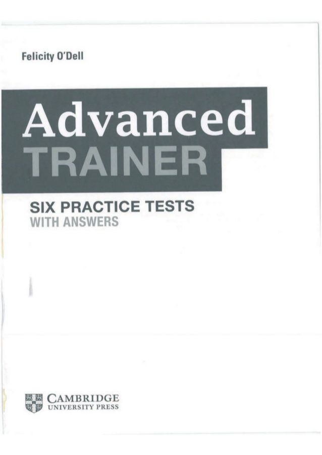 Advanced Trainer 6 Practice Tests With Answers Book4joy 1 Practice Testing Practice Answers