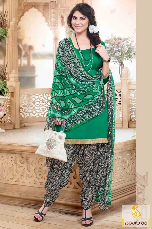 Get the perfect casual look for special occasion in this green black cotton punjabi patiala salwar suit online shopping at low price. Purchase online with discount price. #salwarkameez, #cottonsalwarkameez, #casualsalwarlameez, #printedsalwarkameez, #patialasalwarkameez, #churidarsalwarkameez, #discountoffer, #pavitraafashion, #utsavfashion http://www.pavitraa.in/store/patiala-salwar-suit/ callus:+91-7698234040