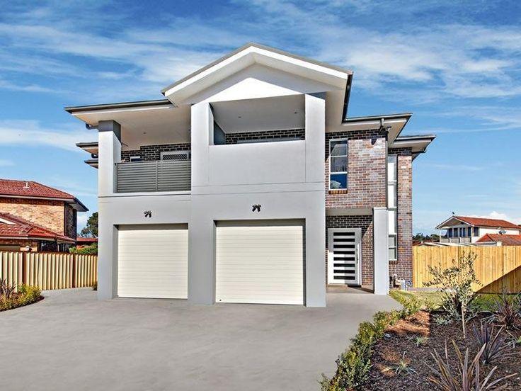 This modern home design has a - Facade - Oneflare