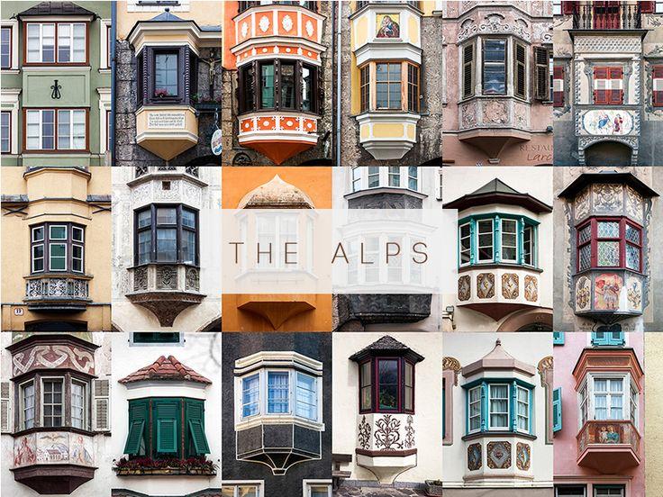 Alps #windows #doors #photography #AllAroundTheWorld #AndreGoncalves #Photographer #Europe #World #Art #Design #Culture #Community #WindowOfTheWorld #DoorsOfTheWorld #designersdome #inspiration #BeInspired #BeautexLuxuryConcepts #since1963