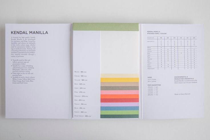 Versatility, durability and reliance are hallmarks of this twelve colour range, wheter used for presentation folders, swing tags or medical records.  Find out more about the Kendal Manilla range at: bit.ly/1PXFarK