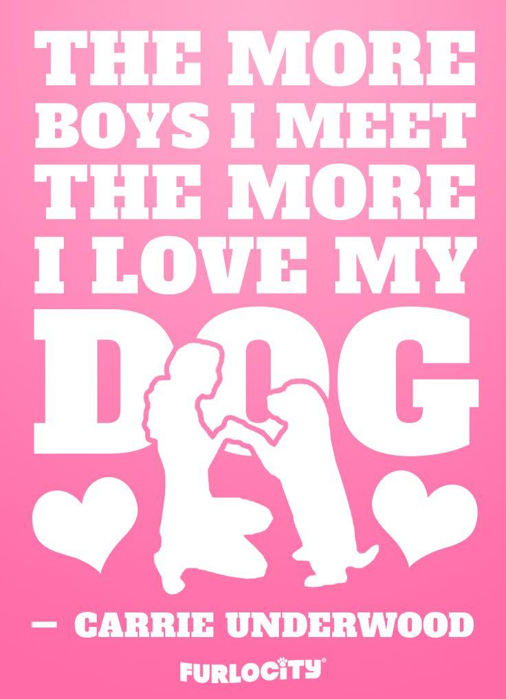 the more boys i meet love my dog lyrics